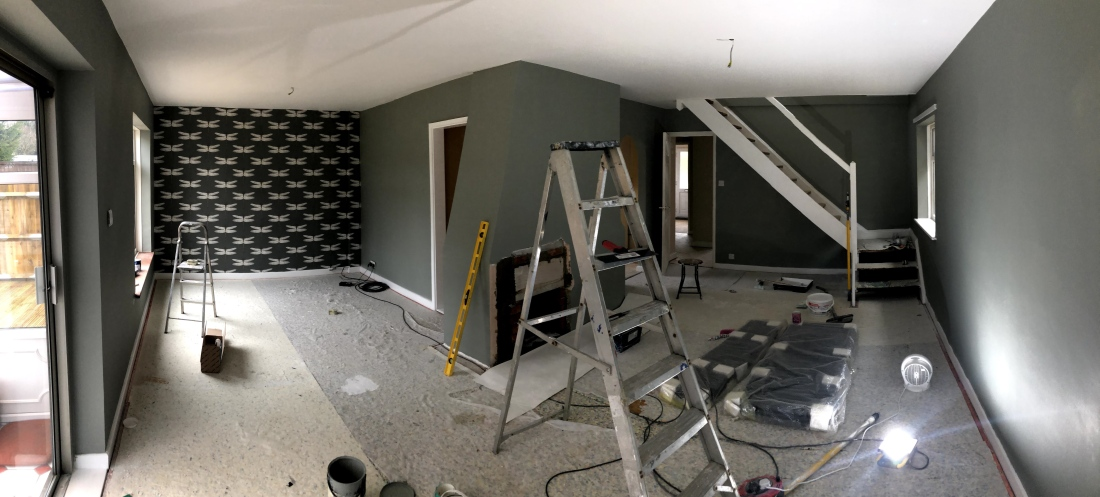 Lounge after painting